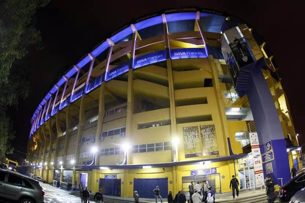 Estadio Club Boca Juniors.